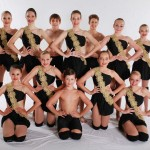 dancers in black leotards