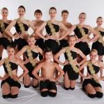 dancers in black leotards
