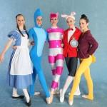 Alice in wonderland dancers